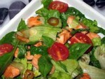 Salmon Salad with Thai Dressing