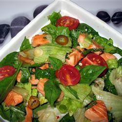 Salmon Salad with Thai Dressing