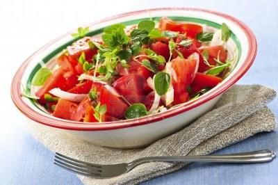 Summer Tomato Herb Salad Recipe