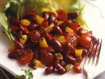 Sweet Pepper Bean Salad with Balsamic Vinaigrette Recipe