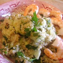 Tabbouleh Prawn Salad Recipe