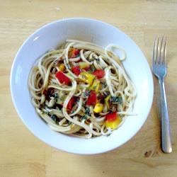 Warm Asian Noodle Salad Recipe