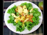 Warm Ginger and Mango Chicken Salad Recipe