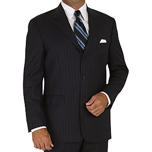 What To Wear With A Black Pinstripe Suit