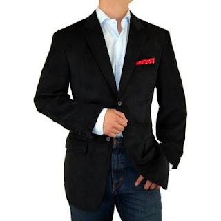 What to Wear With a Black Corduroy Blazer