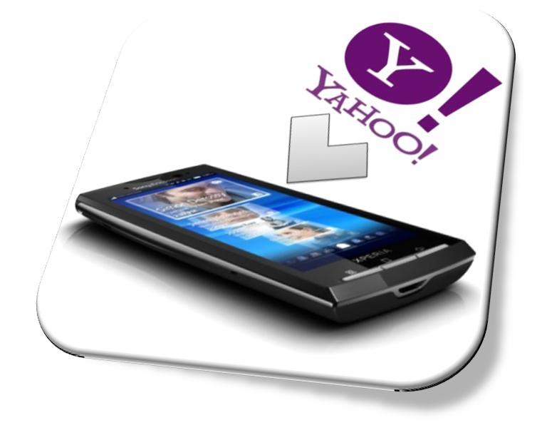 Yahoo Mail Settings on Sony Ericsson