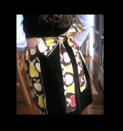 how to make a maid apron