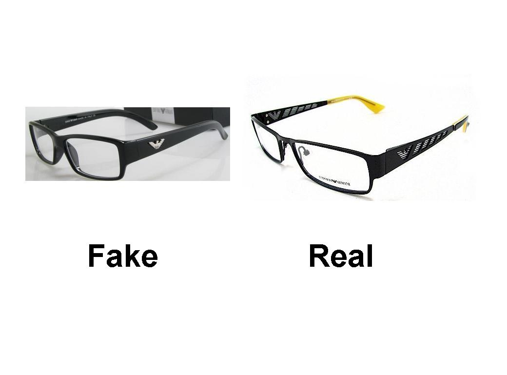 Fake Armani Eyeglass Frames : How to Spot Fake Armani Frames