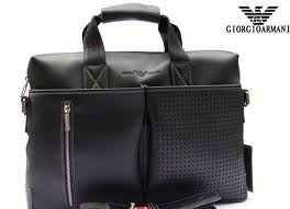 How to spot fake Armani Briefcase