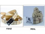 How to Spot Fake Burberry Belts