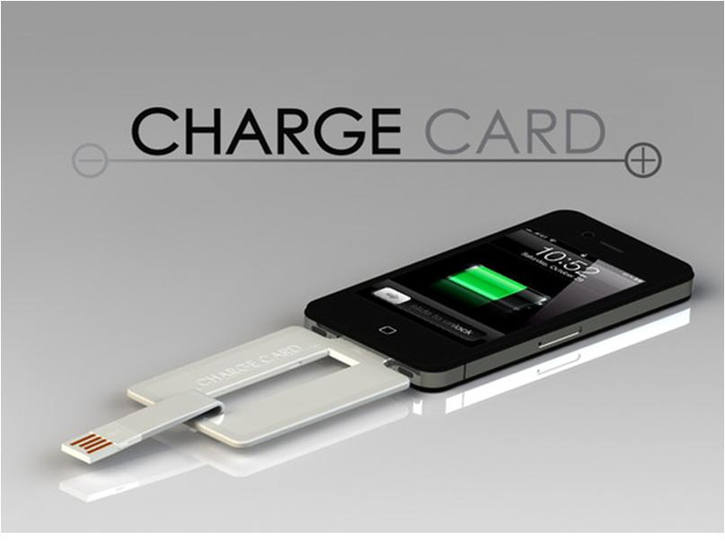 Iphone USB Charger That Fits In Your Wallet