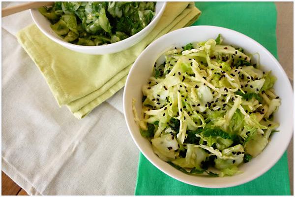 ginger cucumber salad