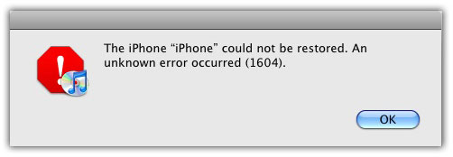 iphone-Error-1604
