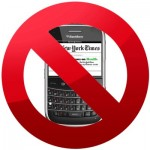 New York Times Drops Blackberry App