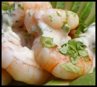 prawn and dill salad