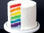 how to make rainbow cake