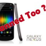 Samsung Galaxy Nexus Sales Banned In United States