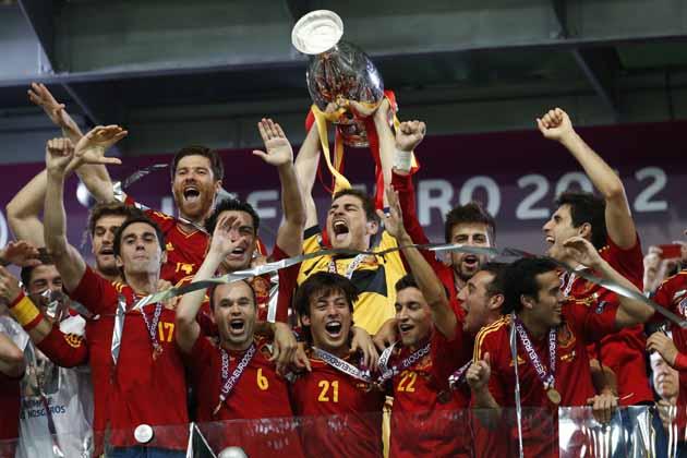 Soccer Euro 2012 Final Spain Italy