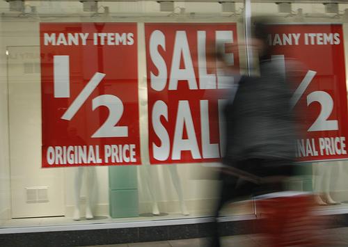 winter sales in london