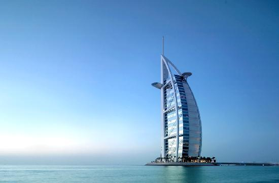 10 most famous landmarks in dubai uae for Dubai world famous hotel