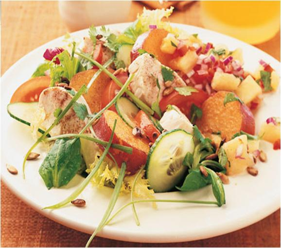 Chicken and Sweet Potatoes salad recipe
