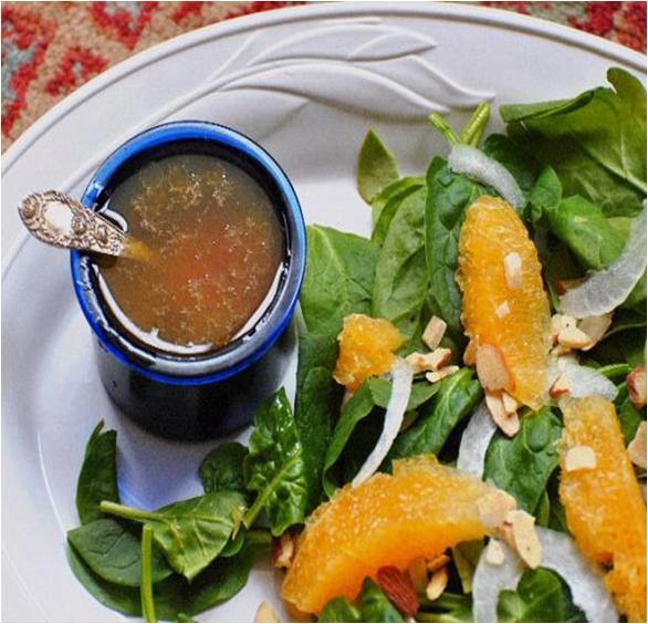 Citrus and Spinach Salad Recipe
