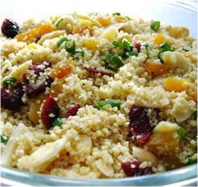 Couscous Salad with Oranges and Dates Recipe