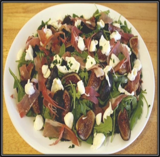 Fig Prosciutto and Mozzarella Salad Recipe