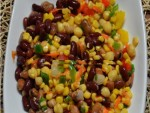 Four Bean and Sweetcorn Salad Recipe