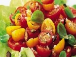 Garlicky Tomato Salad Recipe