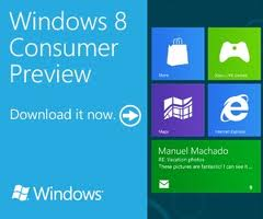 Download Windows 8 Beta Consumer Preview