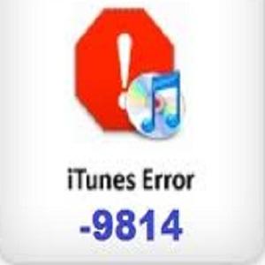 Itune error 9814