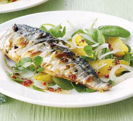 Mackerel Orange and Parsley Salad Recipe