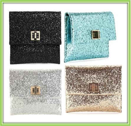 How to Make Glitter Clutch