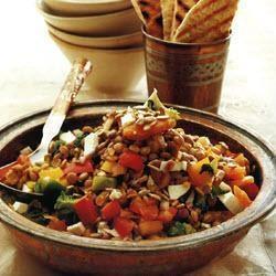 Middle Eastern Lentil Salad recipe