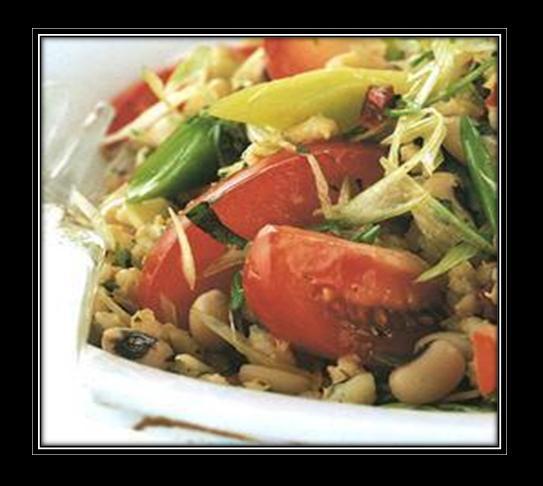 Minted Barley and Beans Salad