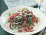 Mushroom Red Pepper and Rocket Salad Recipe