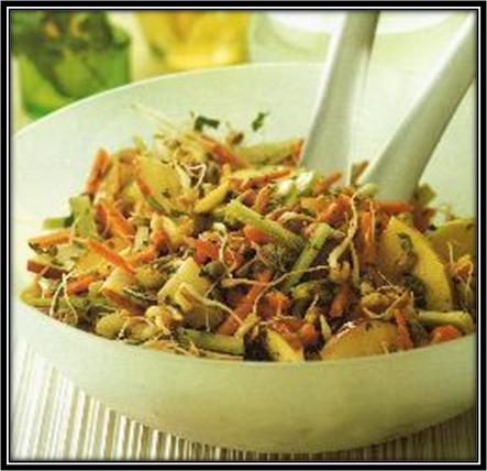 Oriental Sprouted Salad Recipe