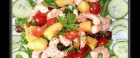 Prawn, Melon and Mango Salad