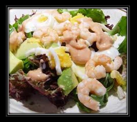 Prawn, Pepper and Avocado Salad Recipe
