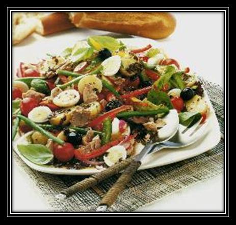 Provencal Tuna and Pepper Salad Recipe