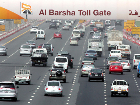 Salik Road Toll System in Dubai