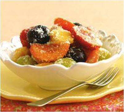 Spiced Seasonal Fruit Salad Recipe
