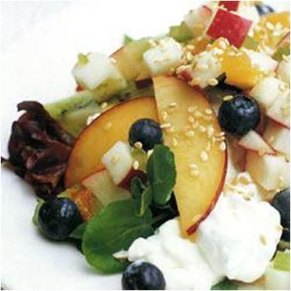 Summer Fruity Cottage Cheese Salad Recipe