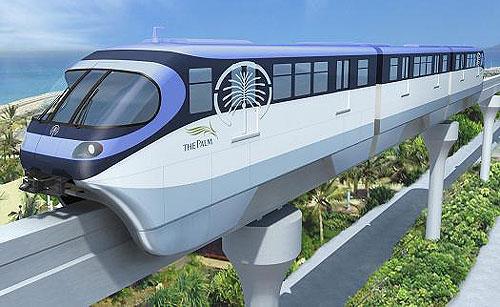 The Dubai Metro Automated Rail Network