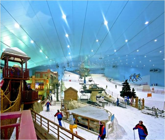 Ski Dubai at The Mall of Emirates Overview