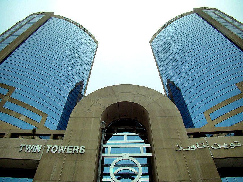 Twin Towers Shopping Mall Dubai