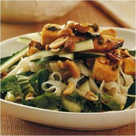 Vietnamese Tofu and Noodle Salad Recipe