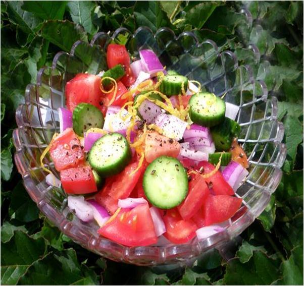 Zesty Tomato Salad Recipe