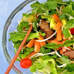 Thai Beef Salad with Papaya Recipe